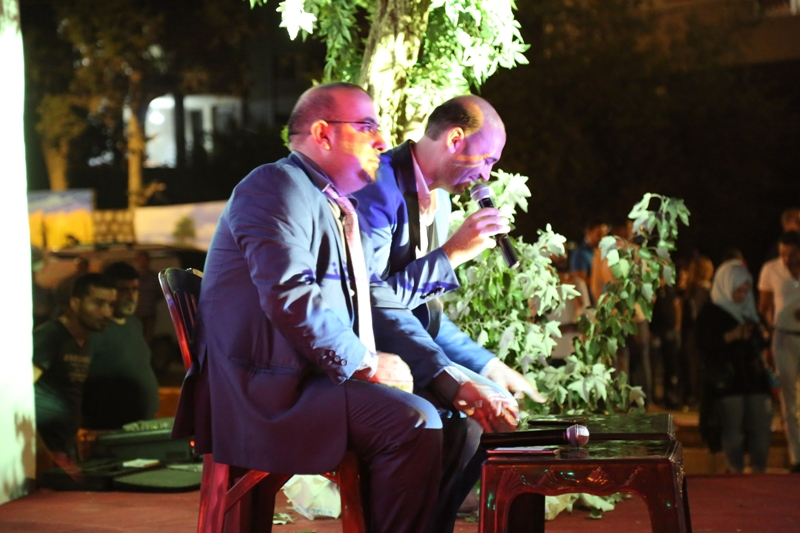 الشاعران محمد بنوت وفادي فياض
