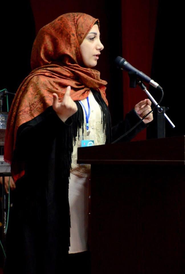 الشاعرة حنان فرفور