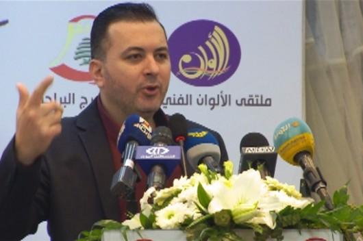 الشاعر محمد علوش رئيس لجنة لبنان