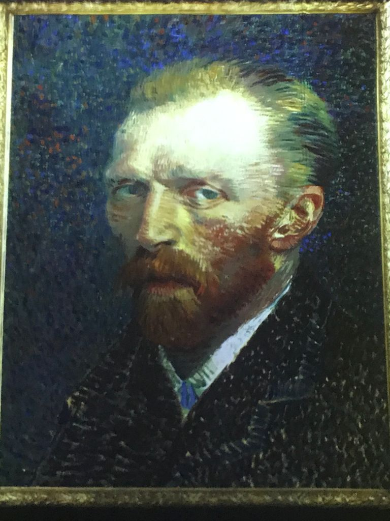 Van Gogh studio Miami, Florida. جولة في ستوديو ڤان جوخ لعضو ملتقى الألوان التشكيلية منى نور الدين في ميامي فلوريدا