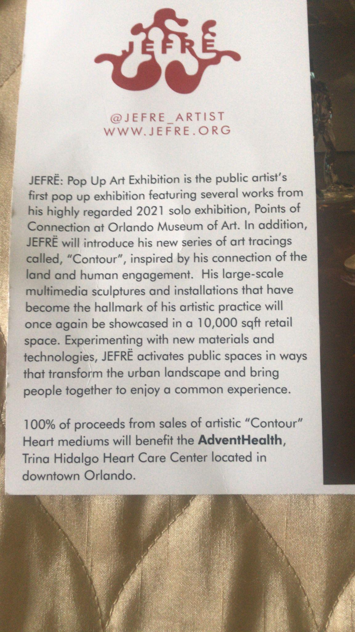 Pop Up art exhibition